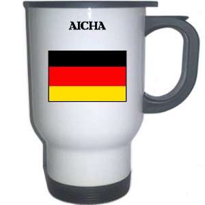 Germany   AICHA White Stainless Steel Mug: Everything