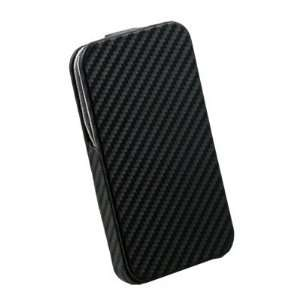 Black Matts Pattern PU Leather Case for Apple iPhone 4G