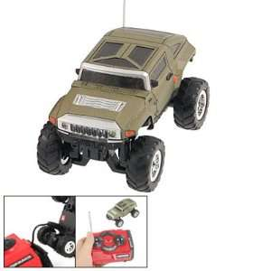 Childre 27MHz Radio Remote Control 160 Scale RC Jeep Model Car Toy