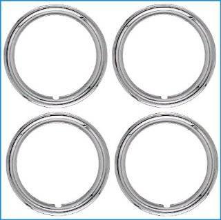 17 Beauty Wheel Trim Rings ABS Chrome Plastic