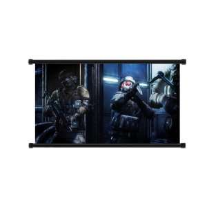 Resident Evil Operation Raccoon City Game Fabric Wall