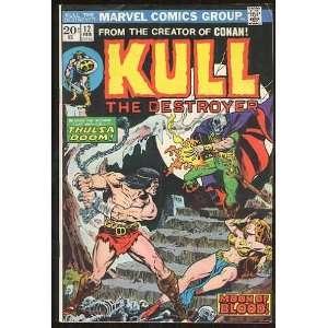 Kull the Destroyer, v1 #12. Feb 1974 [Comic Book]: Marvel