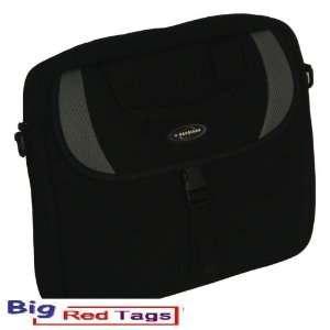 GA08 BLACK BLACK 14.1 LAPTOP CASE NOTEBOOK BAG MESSENGER