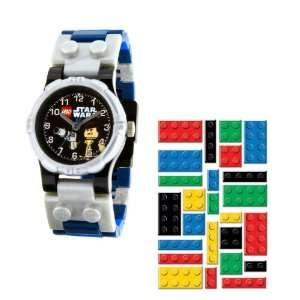 Kids Watch with Hans Solo Toy and Lego Brick Stickers Toys & Games