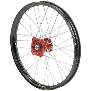 QTM/Brembo Offroad/ATV Complete Front Wheel Assembly   Red