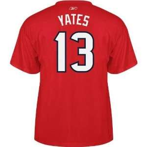 Mens Texans T.J. Yates #13 Game Gear T shirt