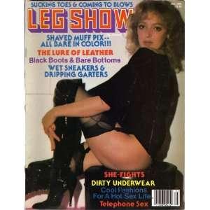 LEG SHOW JANUARY 1981: LEG SHOW MAGAZINE: Books