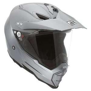 AGV AX 8 Dual Sport EVO Motorcycle Helmet Titanium Gray