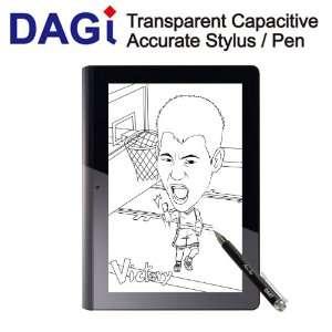 DAGI Capacitive Stylus for iPod Touch, iPad , iPhone Black