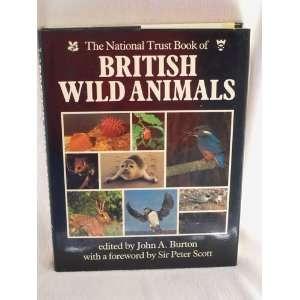 The National Trust Book of British Wild Animals John A. Burton