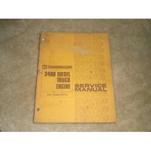 3408 Diesel Truck Engine Service Manual (Serial Numbers