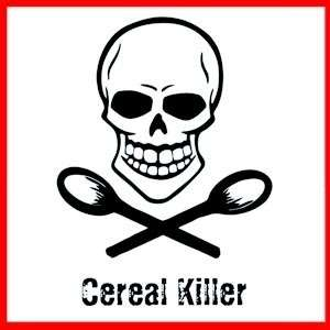 CEREAL KILLER Funny Serial Killer Parody Murder T SHIRT