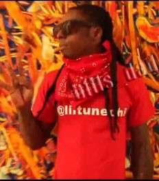 LILTUNECHI lil wayne T Shirt twitter young money tee