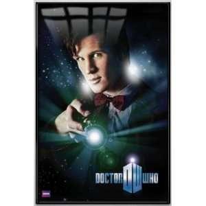 Doctor Who   Framed TV Show Poster (Matt Smith   The 11th