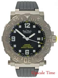 Paul Picot Mens Watch Plongeur C Type Compass C.O.S.C.