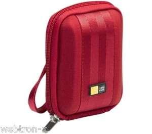 CASE LOGIC QBP 201R RED DIGITAL CAMERA CASE HARD NEW