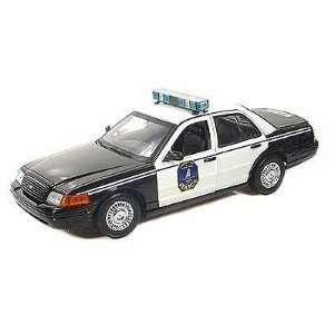 Ford Crown Victoria Charleston SC Police Interceptor 1/18