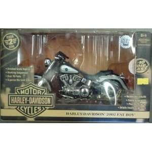 Harley Davidson 2002 Fat Boy 110 Toys & Games