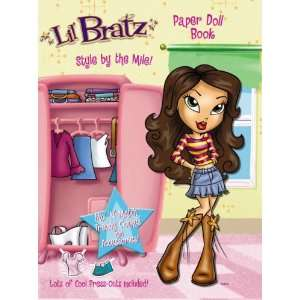 Lil Bratz Paper Doll Book v. 1 (9781842396926) Books