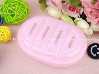 Hello Kitty Plastic Soap Case Dish Holder Pink