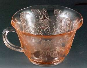 Depression Era Glass Pattern Guide Glassware Georgian Floral items in