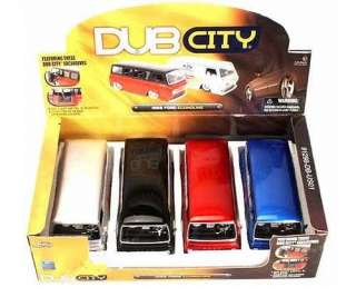 Jada Dub City 1965 Ford Racing Econoline 1:24 G Scale diecast van #S