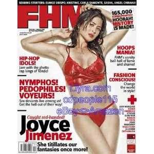 FHM Philippines   July 2007   Joyce Jimenez: Allan A