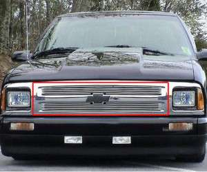 95 96 97 Chevy S10 Upper Billet Grill Grille 1995 1997