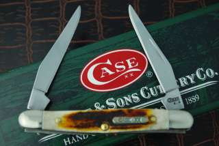 CASE XX RED STAG MINI MUSKRAT KNIFE 2008 BAR SHIELD
