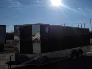 racecar car hauler enclosed motorcycle cargo trailer toy hauler