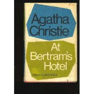 At Bertrams Hotel Featuring Miss Marple  the original