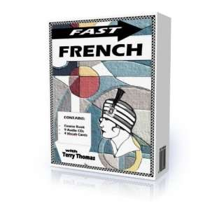 Fast French with Terry Thomas (Book, 8 audio disks, 4