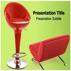 Stylish Furniture PowerPoint Template   PowerPoint