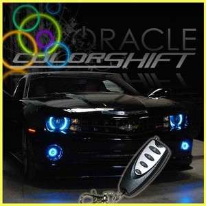 2010 2011 2012 Camaro ColorShift HALO Headlight Kit New ORACLE