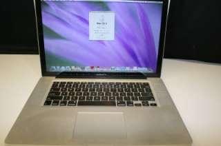 Apple MacBook Pro LapTop 15.4 Model A1286 Core i5 MC118LL/A