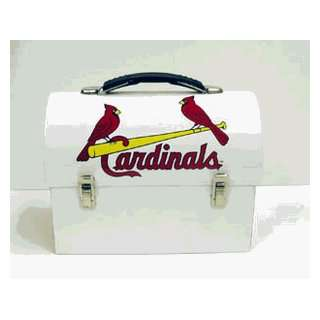 St Louis Cardinals Domed Metal Lunch Box *SALE*