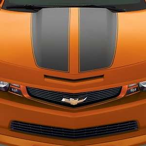 2010 2013 CAMARO UPPER GRILL PAINTED HERITAGE GRILL (INFERNO ORANGE