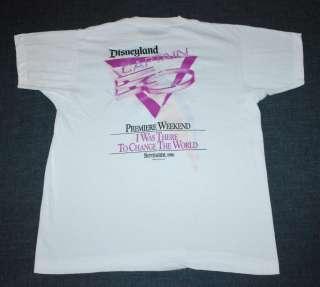 VTG DISNEYLAND CAPTAIN EO MICHAEL JACKSON SHIRT 1986 XL