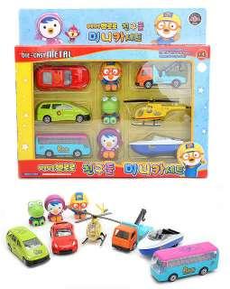 little penguin Korean Animation Die cast Metal mini Car set Listing