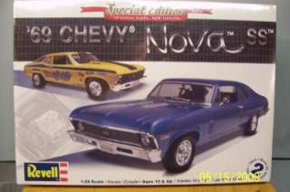 Revell Model kit 85 2098 1969 CHEVY NOVA SS Sealed