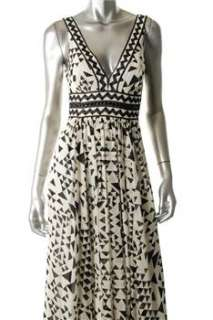 BCBG Maxazria NEW Ivory Versatile Dress Silk Embellished 2