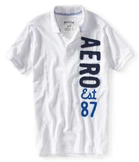 Aeropostale mens AERO est 87 polo shirt   Style # 2325