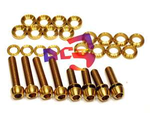 XX, X0, X9, X7 Elixir, Code, Juicy Disc Brake Ti Bolts