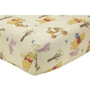 Winnie the Pooh Crib Sheet Fitted Baby