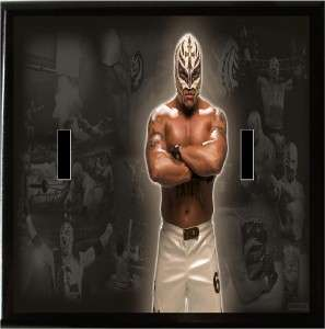 WWE WWF wrestling REY Mysterio light switch plate cover