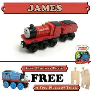 Train Set   Free 2 Pieces of Track & Free Thomas Train: Toys & Games