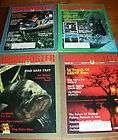 Lot of 4 BASSMASTER Bass Fishing Magazine 1987