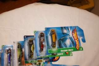 Up for bid is Hot Wheels Treasure Hunt Lot of 29 with Display Case All