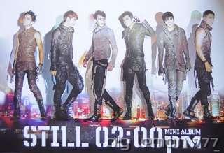 2PM STILL 0200 PM MINI ALBUM Boy Band Poster