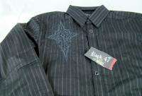 Mens Wrangler Embroidered Rock 47 long sleeve shirt NWT $58 any size M